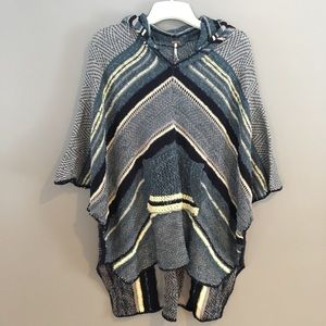 Gorgeous Free People poncho